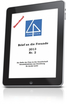 Brief an die Freunde Nr. 2 - 2013 - Download